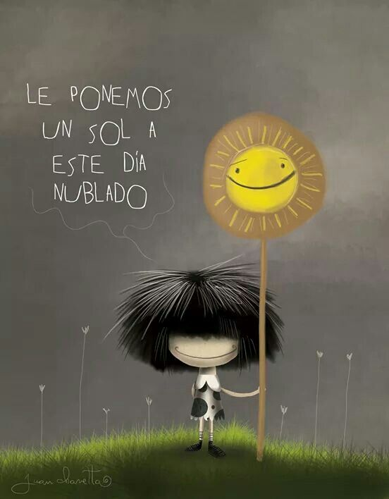 Le ponemos un sol a este día nublado? http://enviarpostales.net/imagenes/le-ponemos-sol-este-dia-nublado/ Saludos de Buenos Días Mensaje Positivo Buenos Días Para Ti Buenos Dias