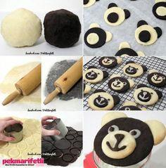 Panda kurabiye nasıl yapılır?