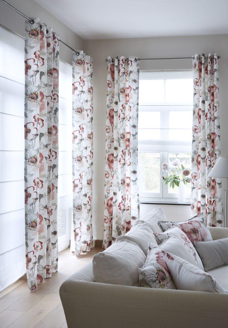 1000 images about le tissu florentis rose on pinterest - Www heytens com rideaux ...