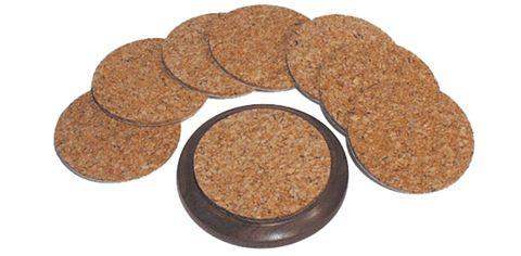 Packard Woodworks: The Woodturner's Source: Cork Coaster Discs