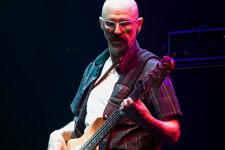 Tony Levin. King Crimson and Peter Gabriel bassist and stick player. Amazing... Got to see him play live with Peter Gabriel in 2003.WOW!