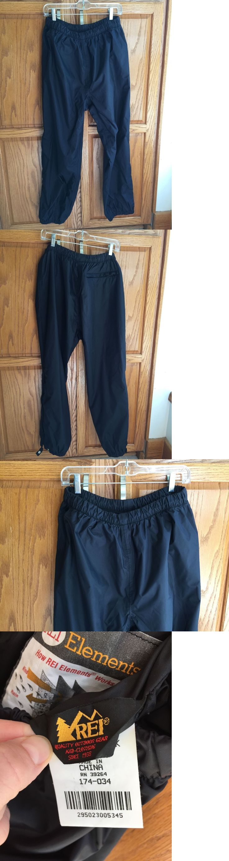 Snow Pants and Bibs 36261: Rei Elements Women S 14 Black Ski Snowpants Lightweight Snow Pant Nylon Nwot New -> BUY IT NOW ONLY: $35 on eBay!