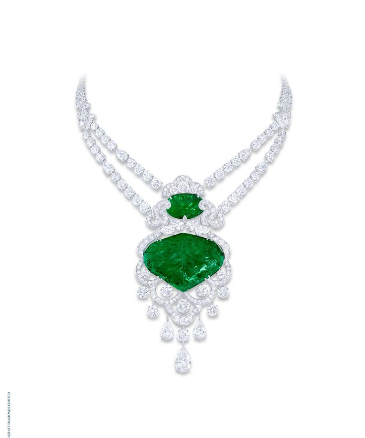 98 best emerald necklace images on pinterest jewerly for 10th wedding anniversary jewellery