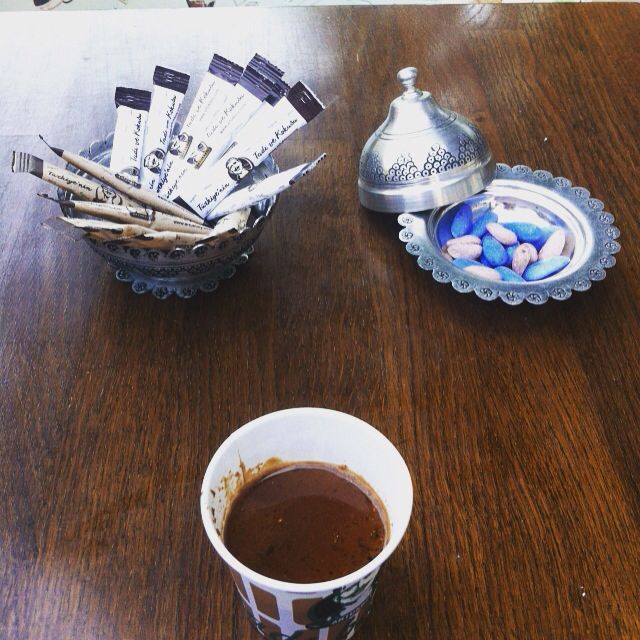 artukbey 4. levent you must taste the special mixed coffe