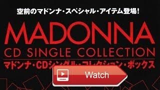 MADONNA Japanese CD Single Collection Box  This video is about MADONNA Japanese CD Single Collection Box Set and the Japanese Snap Pack Singles All items are