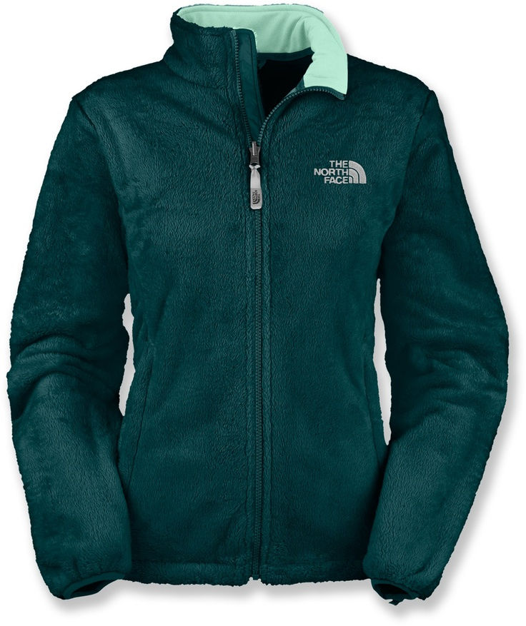 "Have a jacket like this, though it's getting quite worn-in. Love this one in the teal-- but still probably need something heavier first. :( ""The North Face Osito Fleece Jacket - Women's - Free Shipping at REI.com"""