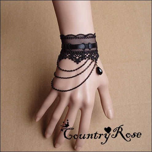 Hey, I found this really awesome Etsy listing at https://www.etsy.com/listing/155585590/charming-gothic-vintage-black-lace-black