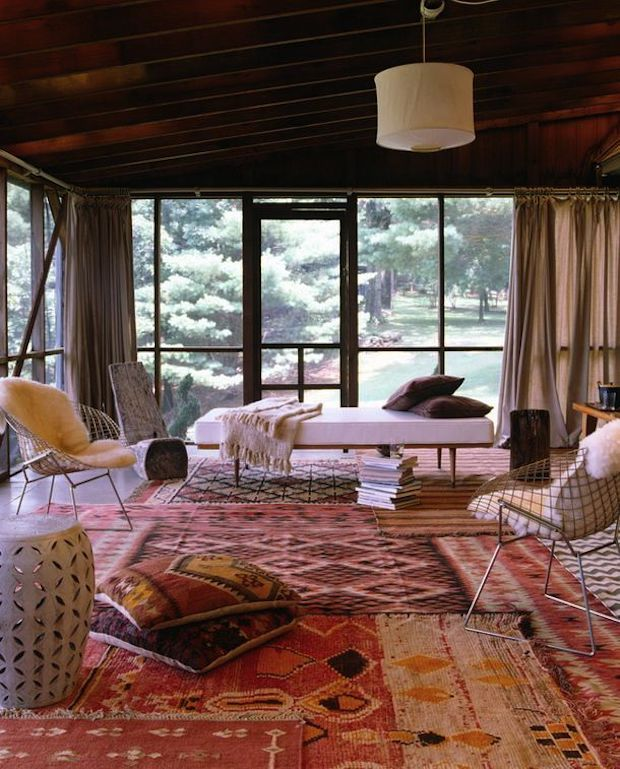 Home and Delicious: TRANSFORMATIVE POWER OF LAYERED RUGS...