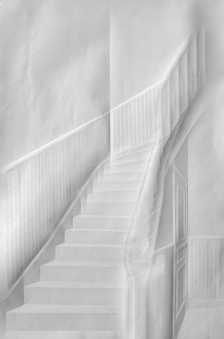 Folded Paper Art – Simon Schubert