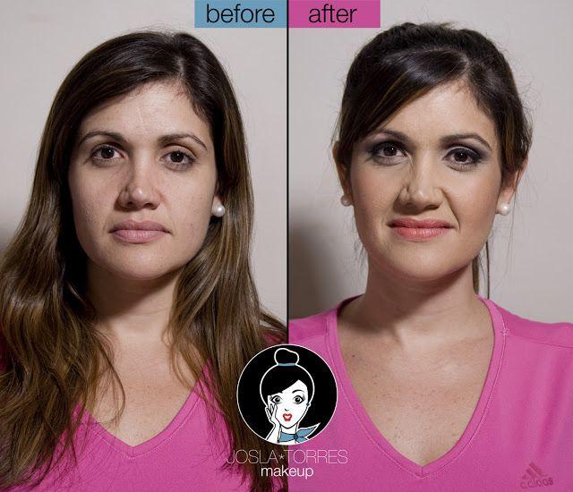 Josla Makeup: Antes y después... Maridelis