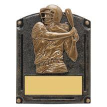 """Softball Trophy - Female - 5 x 6 1/2"""" 3D Shadow Award"""
