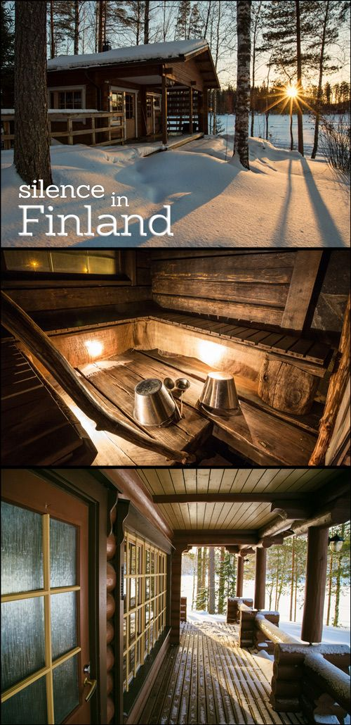 Enjoy the silence of Finland.