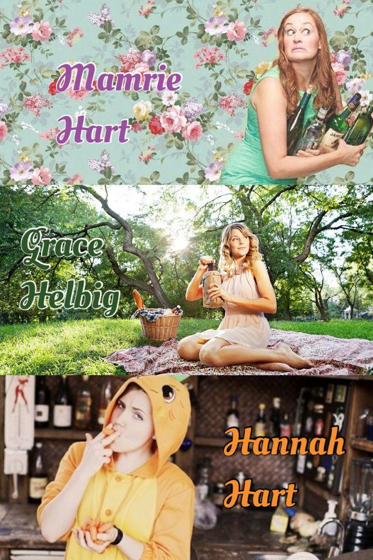 Mamrie Hart, Grace Helbig, and Hannah Hart YouTubers  #teaminternet