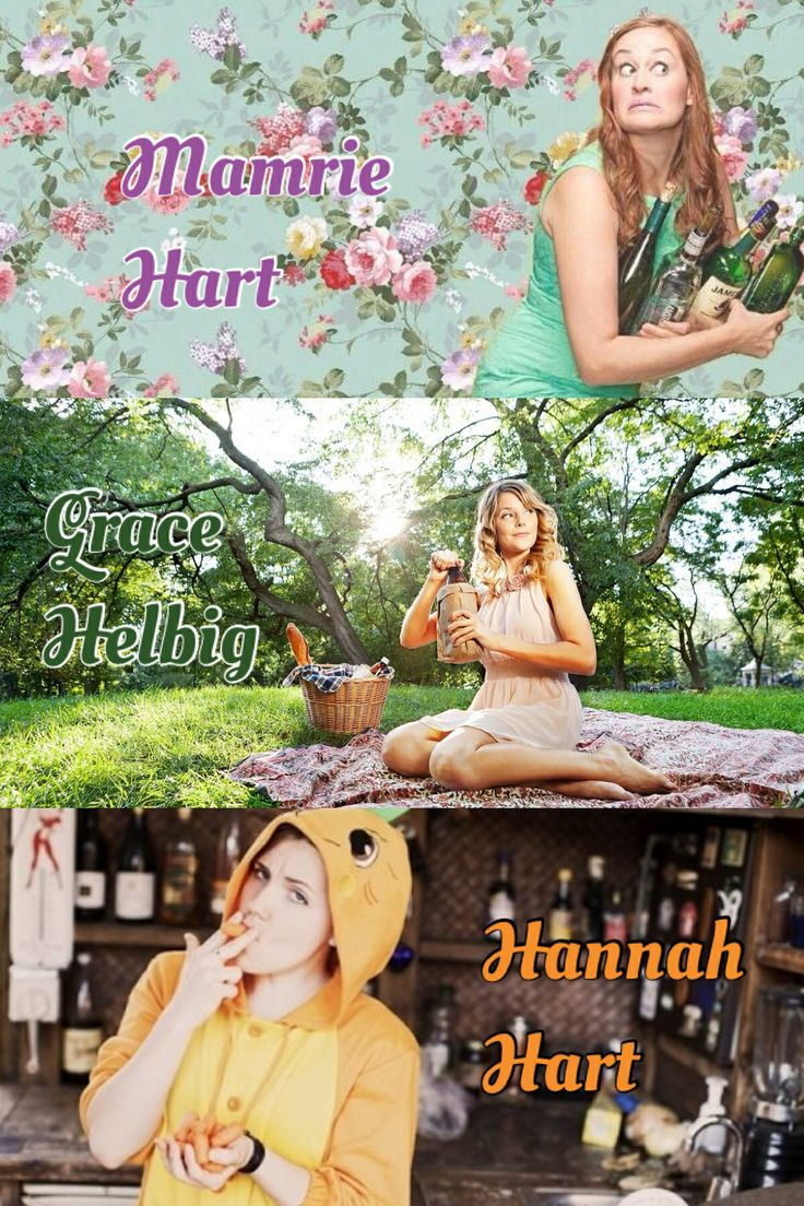 Mamrie Hart, Grace Helbig, and Hannah Hart