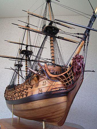 ロイヤル・ジョージ(Royal Georgr) 帆船模型 製作過程(6)
