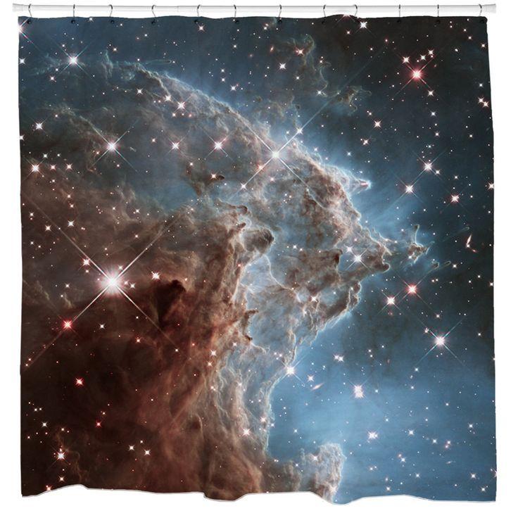 Star-Forming Region NGC 2174 Shower Curtain