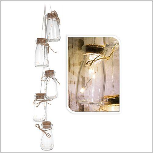 Łańcuch lampionów - lampki LED