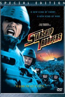 Starship Troopers: Filmed in 1997, Hells Half Acre near Casper plays a large role in this film.