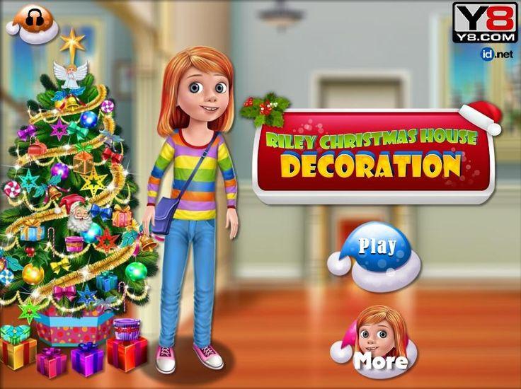 Riley wybiera się na zakupy do galerii. Musi kupić kilka ozdób świątecznych, którymi ozdobi choinkę na święta! http://www.ubieranki.eu/gry/3662/riley-i-swiateczne-dekoracje.html