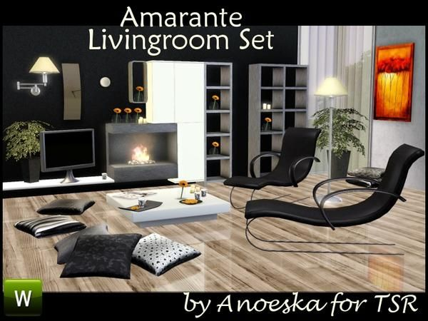 The Flowers Living Room Sets Artists Change 3 Sims Decorative Items Fireplaces Television Lamps