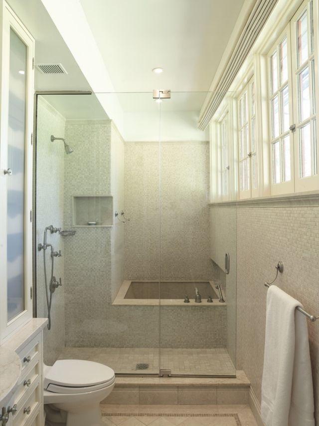 Die besten 25+ Badewanne glaswand Ideen auf Pinterest Duschwände - kleines badezimmer mit dusche
