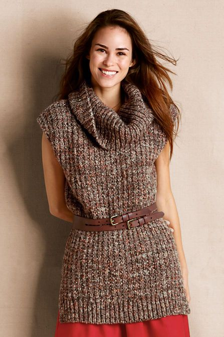 Women's Tunic Sweater from Lands' End ($80)