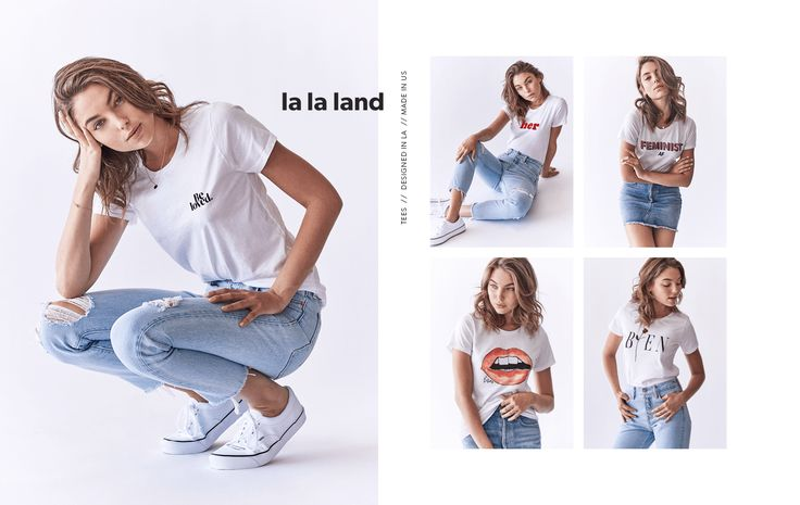 Beloved Lane Lookbook | Collection 1 | Tees / T-shirts designed and made in LA. Socially conscious clothing line you can feel good about!