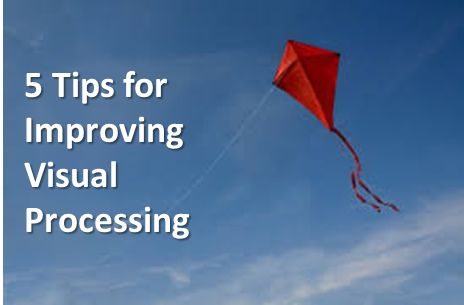 LD Action: Creating Possibilities: 5 Tips for Improving Visual Processing