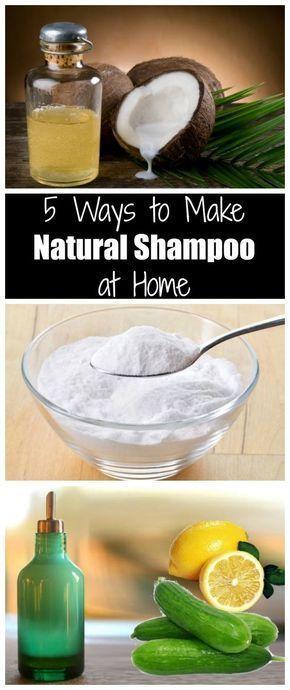 5 Möglichkeiten, natürliches Shampoo zu Hause he…