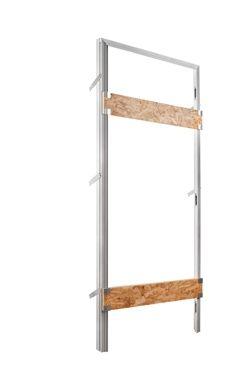 Contramarco para puerta batiente enrasada con la pared - Eclisse | Producciòn de estructuras para puertas correderas ocultas