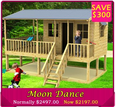 Save $300 on the Moon Dance Cubby House brand new release