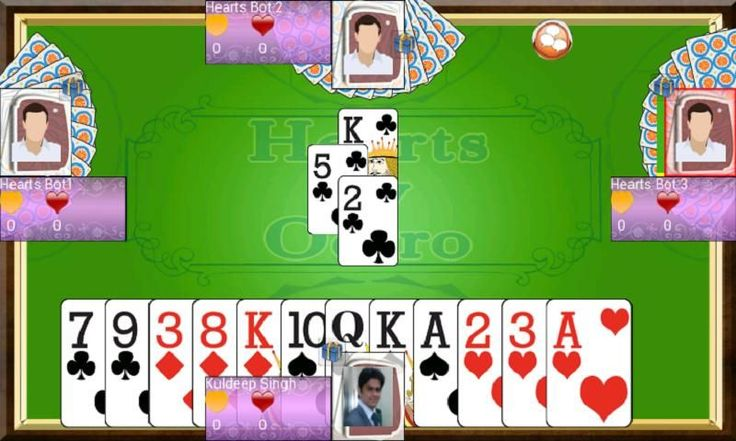 Hearts is a popular card game. You can play hearts with other players. You can also create private table, and invite facebook friends to play with you.<br><br>Hearts is a four players game and is played with a 52-cards deck without jokers. The object of Hearts is to have the lowest points (penalty points) at the end of the game. Queen of spades (Q) is worth 13 penalty points and each card of hearts  is worth 1 penalty point. Thus there are a total of 26 penalty points. All the other cards do…