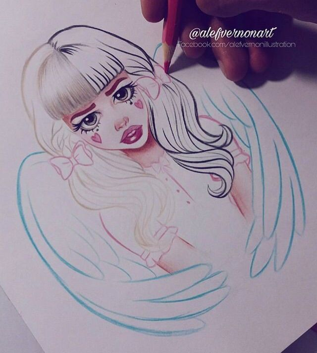 ~Alefvernonart~The Best Melanie Martinez FanArt!~ | Crybabies Amino