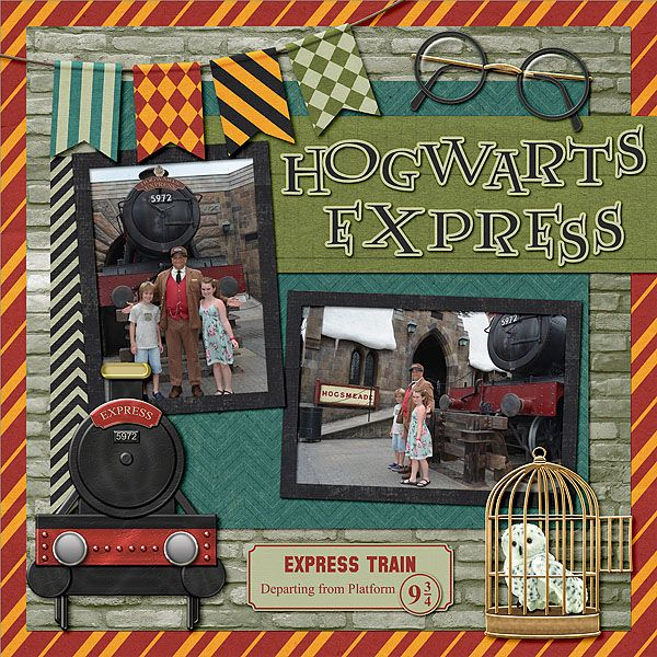 Wizarding World of Harry Potter - Page 13 - MouseScrappers.com