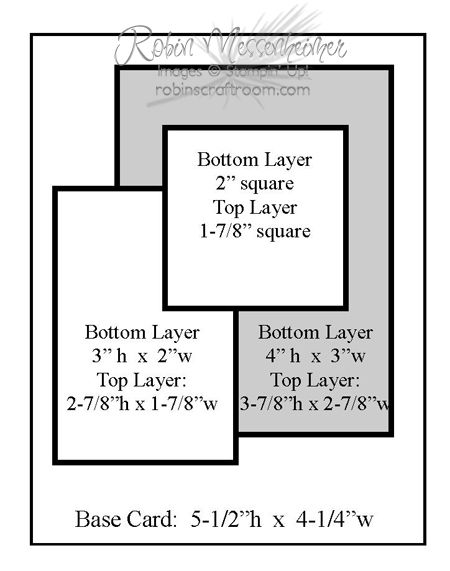 17 Best images about Card Making-measurements on Pinterest | Gift ...