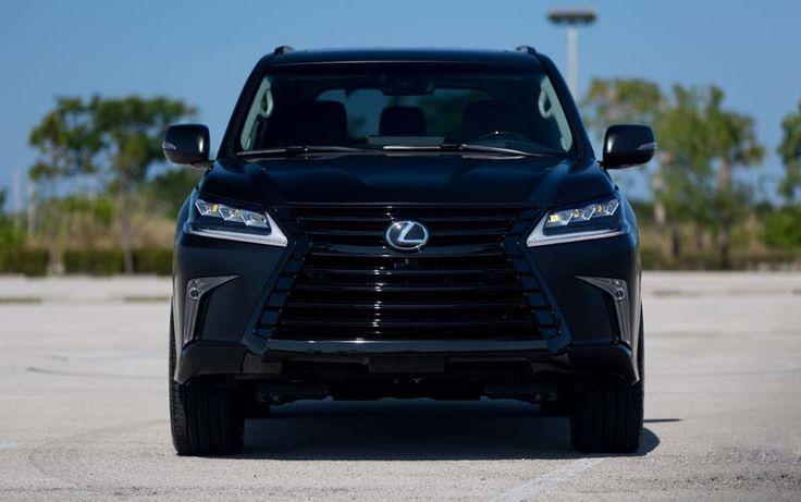 2017 Lexus LX 570 overview