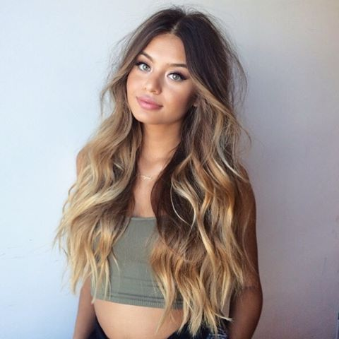 How To Style Long Hair 720 Best Hairlong Images On Pinterest  Long Hair Beleza And Girl
