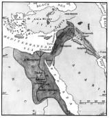 What Is the Fertile Crescent?: Map of the Fertile Crescent