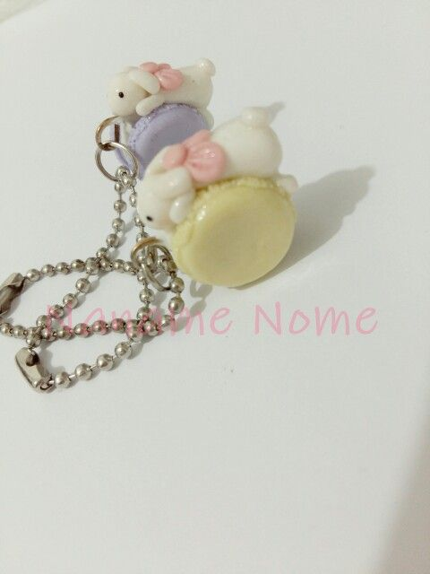 Handmade with love .. please follow ig @naname_nome #clay #jualclay #keychains #handmade