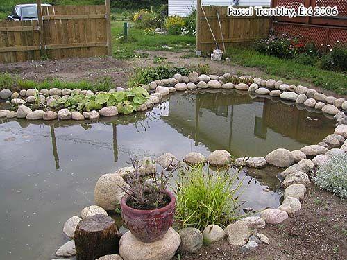 Les 14 meilleures images du tableau bassin de jardin sur for Liner bassin epdm