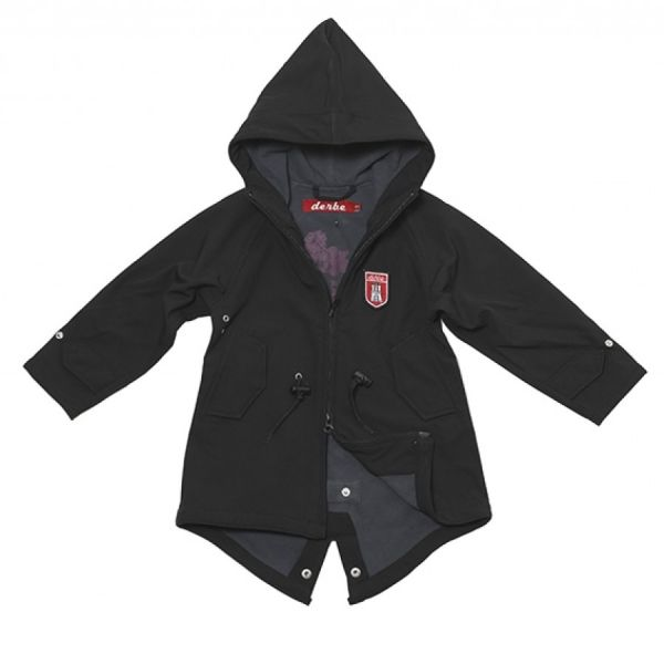 Derbe Kinder Jacke Island Friese black