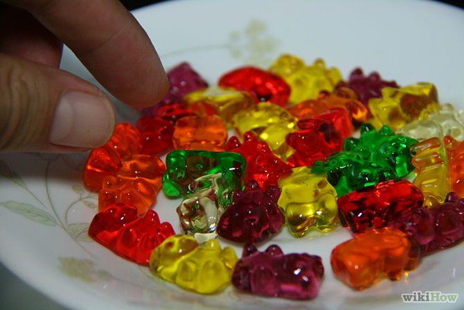 Vodka Insfused gummy bears