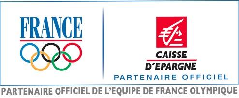 Logo officiel du partenariat CNOSF/ Caisse d'Epargne