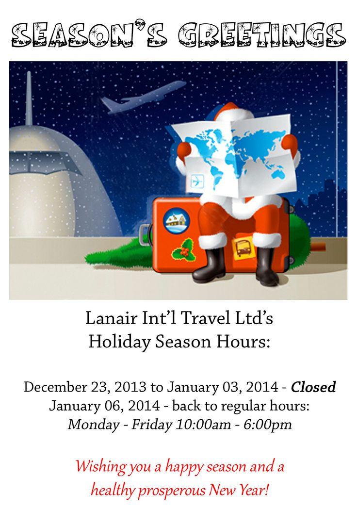 #OakvilleOntario #TravelAgency #Travel #Christmas #Holidays