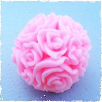 Soap Ball roses to create a lovely floral display from Renascent Bath and Body
