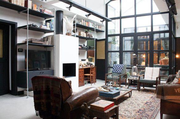 James van der Veldens renoverade garage i Amsterdam