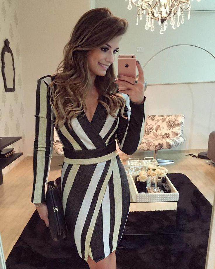 Vestido Listrado