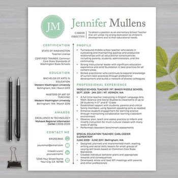 8 best CV images on Pinterest Teacher resume template, Cv template - sample advertising contract template