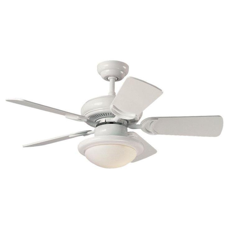 White Ceiling Fan | Richmond Chandelier $135 Monte Carlo