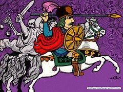 Os Quatro Cavaleiros do Apocalipse - Clique para fazer o download deste wallpaper